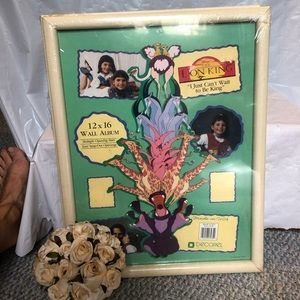 Disney lion king picture frame new made in USA